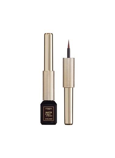 L'Oréal Paris L'Oreal Paris Mat Eyeliner - Matte Signature Eyeliner 03 Marron Renksiz